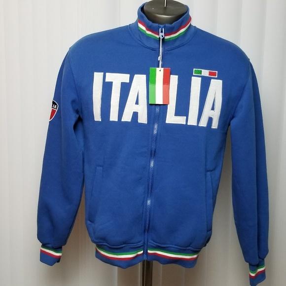 80a6c106dfd 😁✌👍Host Pick 🤘🤟😀 Italia Zip Up Track Jacket